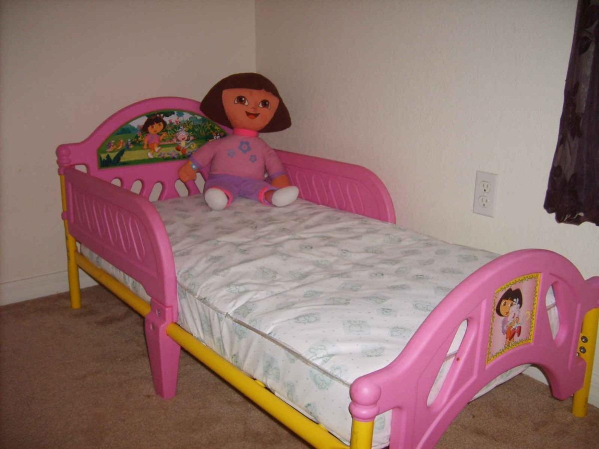 Camita dora la exploradora cama ni as infantil vv4 - Camas de princesas para nina ...