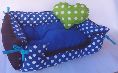 camita tipo sofa talle5 80x65cm envios gratis