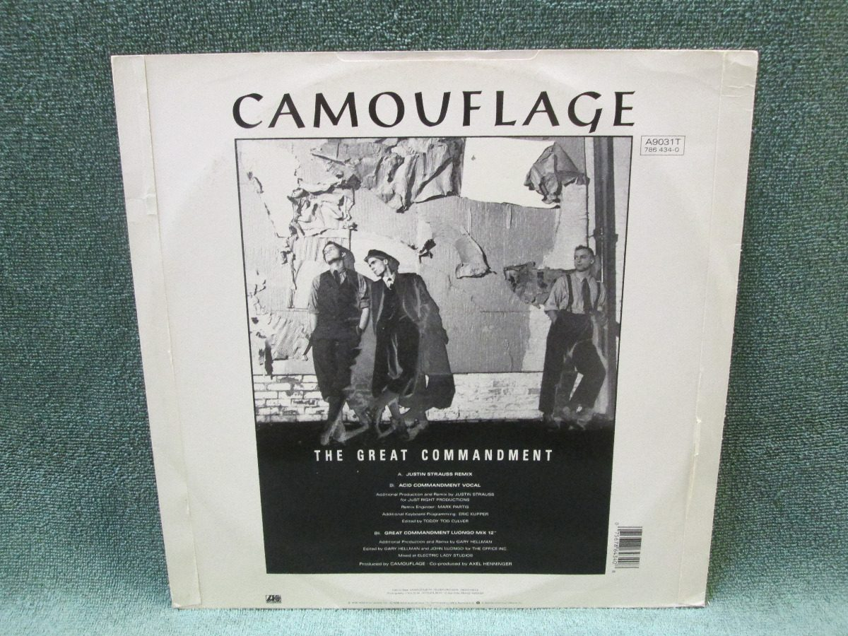 9c81e34d9a camouflage - the great commandment strauss remix (vinil 12). Carregando  zoom.