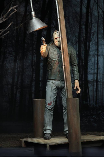 camp crystal lake accessory pack - viernes 13 - neca