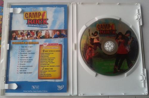 camp rcok dvd edicion rockera extendida con secuencia musica