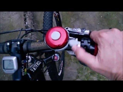 campainha buzina para bicicleta trim trim