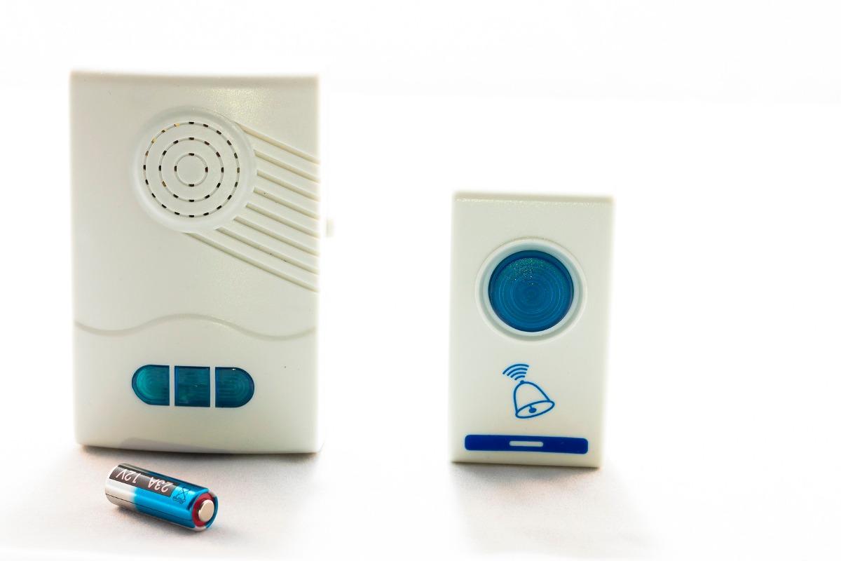 Campainha De Porta Residencial Wireless Sem Fio Bivolt R