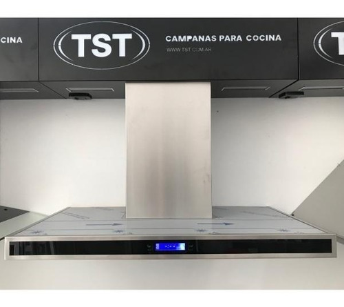 campana cocina colhue touch 60cm led timer acero inoxidable