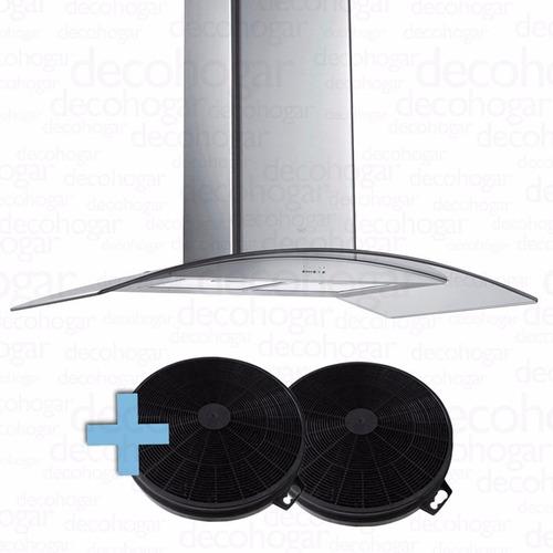 campana cocina extractora acero inox tst isla lacar  filtro