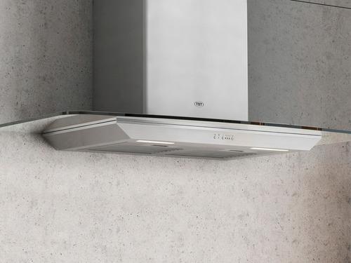 campana cocina extractora acero inox tst tamel 90cm c/ motor