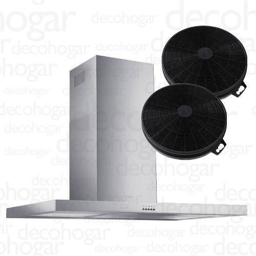 campana cocina extractora inox tst nihuil 75cm filtro cuotas