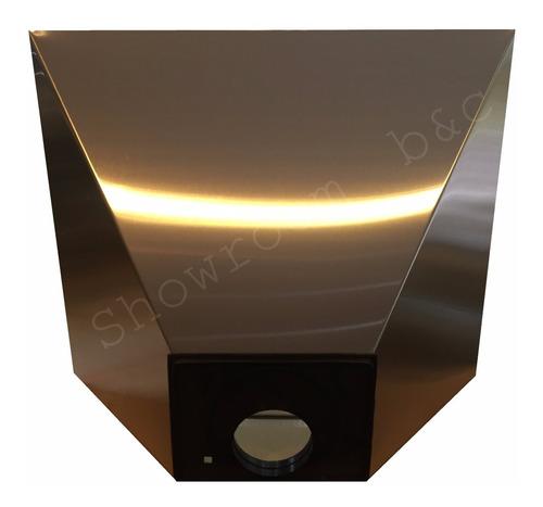campana cocina industrial acero vacia 60 cm sin motor