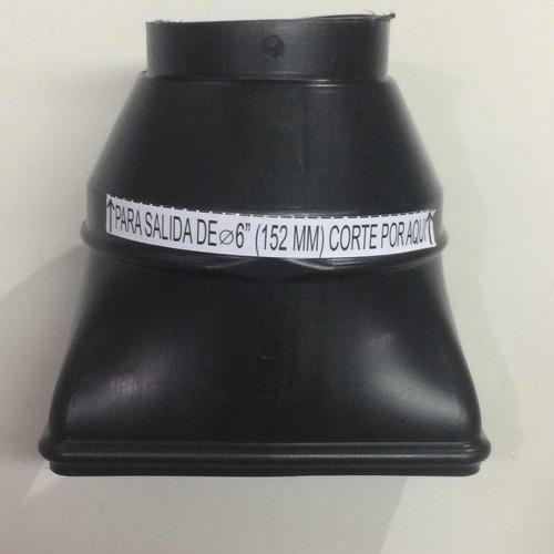 campana cocina maraldi 60 cm acero inoxidable completa motor turbo 1 vel + filtros + luz led + cubre caño 50 cm