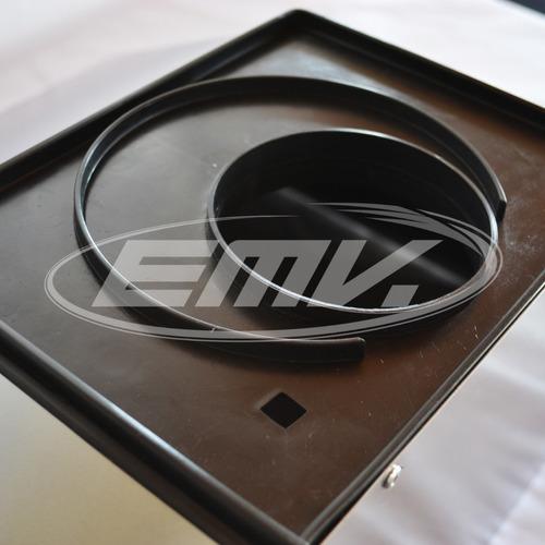 campana cocina maraldi 70 cm acero inoxidable  vacia + fondo + cubre caño 50 cm