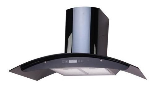 campana cocina pared bacco 75 cm negra bcavn 75