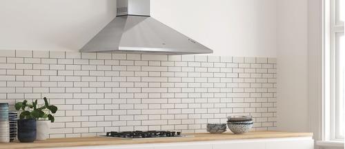 campana  cocina piramide 75, tst + aerosol limpieza acero