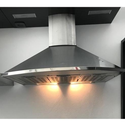 campana cocina semi circular eclipse 60cm acero inoxidable