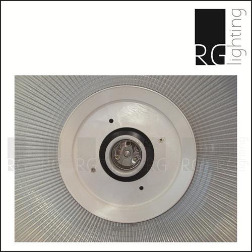 campana colgante de policarbonato 40cm diametro
