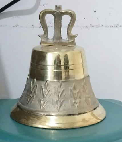 campana de bronce # 8, diferentes medidas