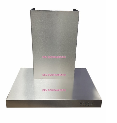 campana de cocina 60 cm slim flat acero inox 3 vel diaz sur