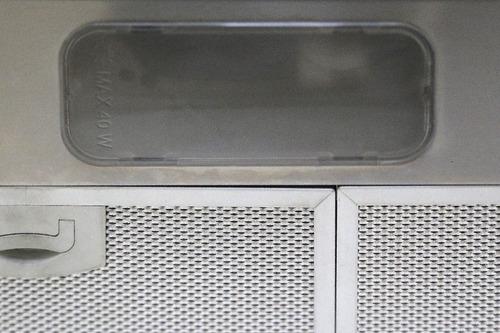 campana de cocina 80 cm acero inox mod. ch tulum