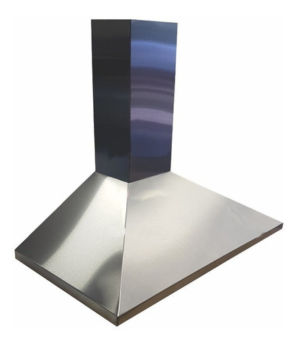 campana de cocina 90 cm acero inox. mod. piramide conica ds