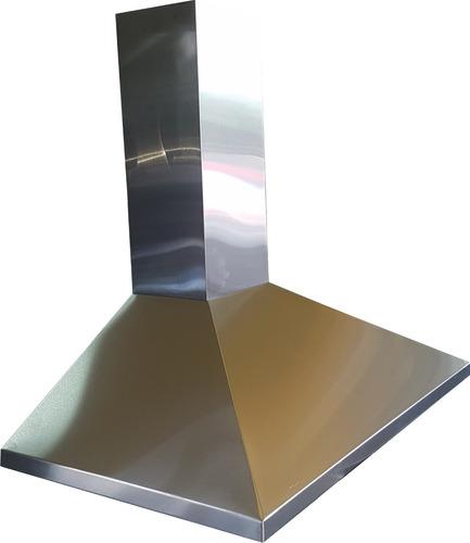 campana de cocina 90 cm acero inox. piramide conica ds