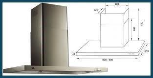 campana de cocina acero 90cm tst nihuil con extractor