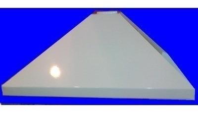 campana de cocina blanca 80 cm vacia linea economica