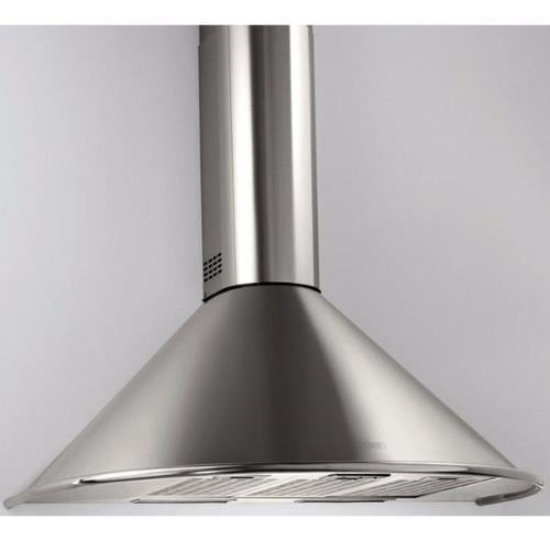 campana de cocina circular 60cm esmaltado blanco epoxi
