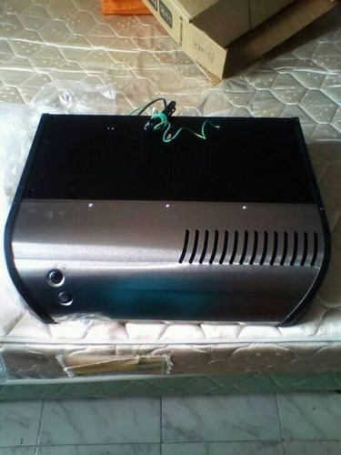 campana de cocina de acero inoxidable