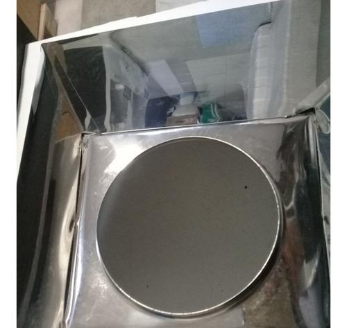 campana de cocina inoxidable 60 cm vacia linea economica
