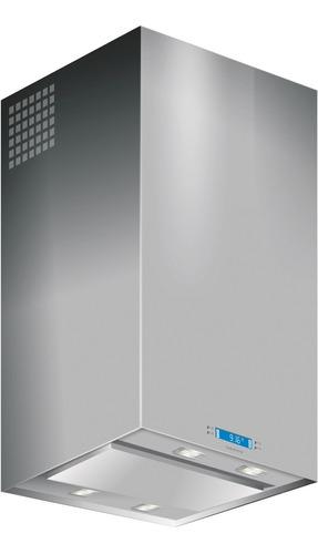 campana de cocina llanos isla qubix lcd 60 cm acero pintumm