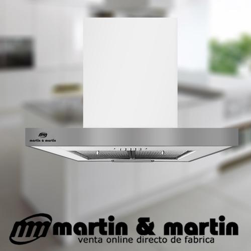 campana de cocina modern blanco 60cm martin & martin