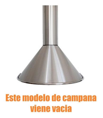 campana de cocina tst circular 60cm standart inox vacia