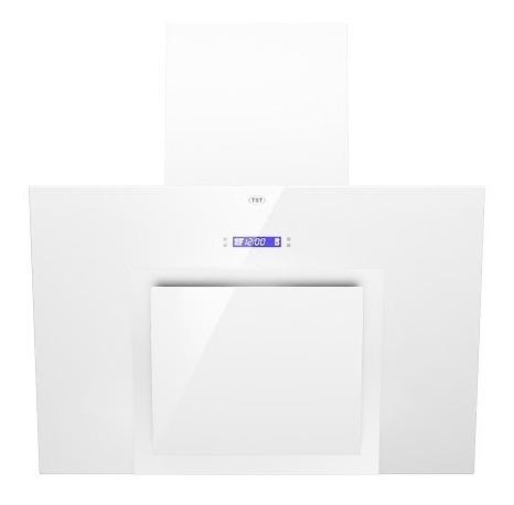campana de cocina tst espejo blanca 90 led programable 3 vel