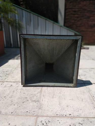 campana de cocina zinc 60 cm