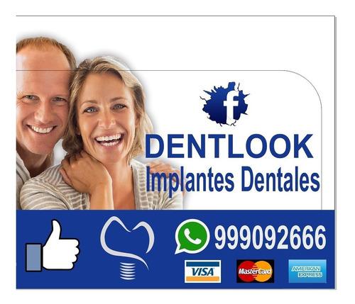 campaña de colocación  implantes dentales
