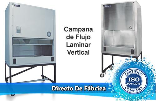 campana de flujo laminar vertical en acero esmaltado (clase