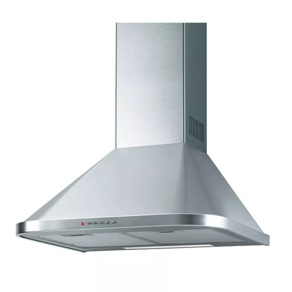 6b4298aef6422 Campana Domec 90 Cm Inox C  Luz 3 Velocidades Filtro Lavable ...