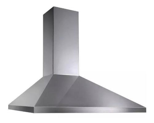 campana extractora de cocina piramidal acero inox 90 cm