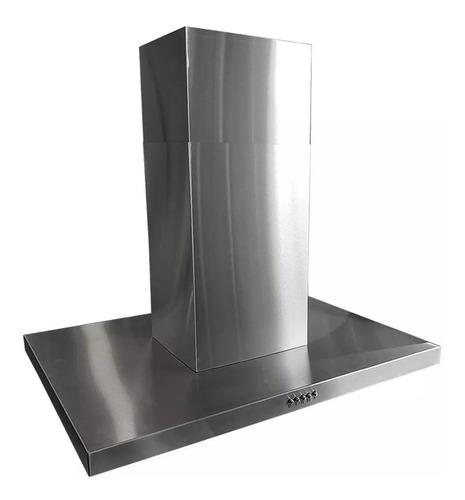campana extractora isla de cocina col home slim 90 cm 3 vel