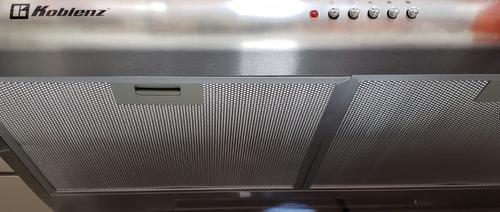 campana koblenz de acero para estufa de 30   cmk761 nueva