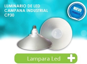 campana led mini high bay 30w reflector foco lámpara