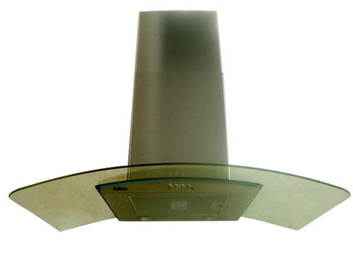 campana para cocina de cristal templado