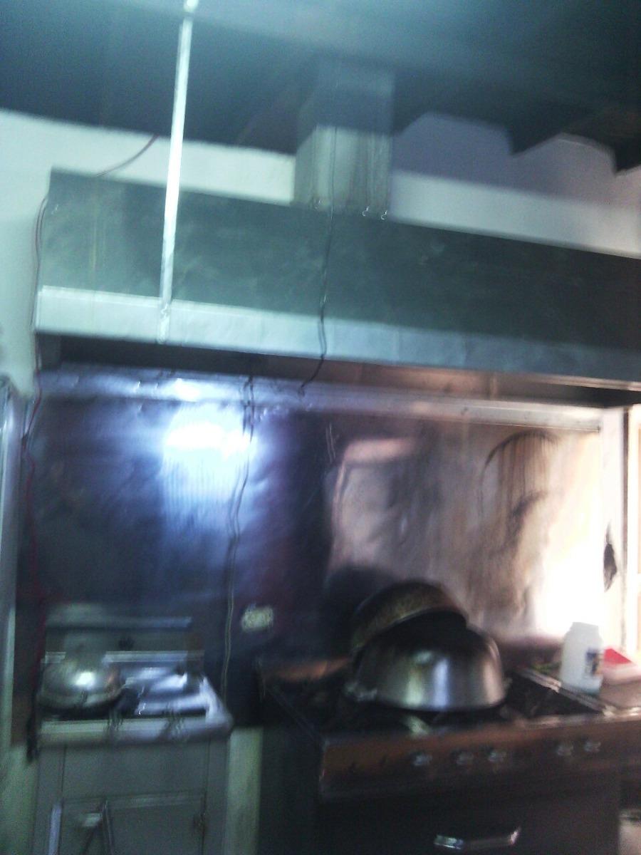 Campana para cocina industrial ductos de panaderia en for Instalacion cocina industrial