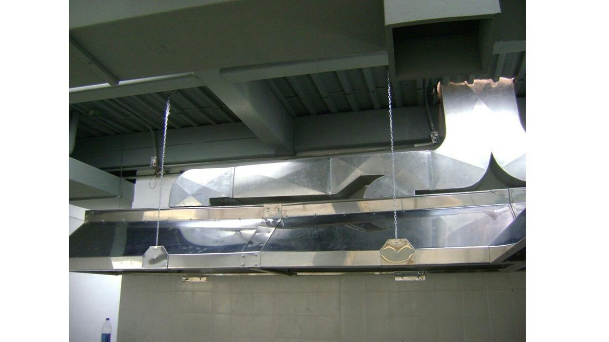 Campana para cocina industrial ductos de panaderia en - Campana cocina industrial ...
