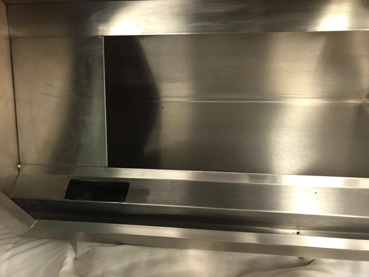 Campana para cocina industrial restaurante nueva acero inox 15 en mercado libre - Campana cocina industrial ...