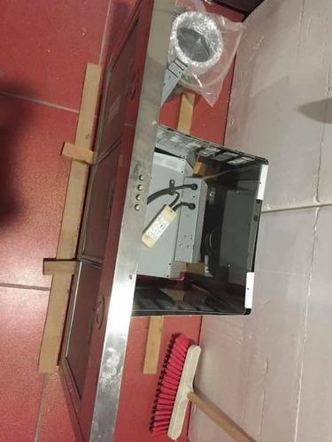 campana para cocina nueva de acero inoxidable