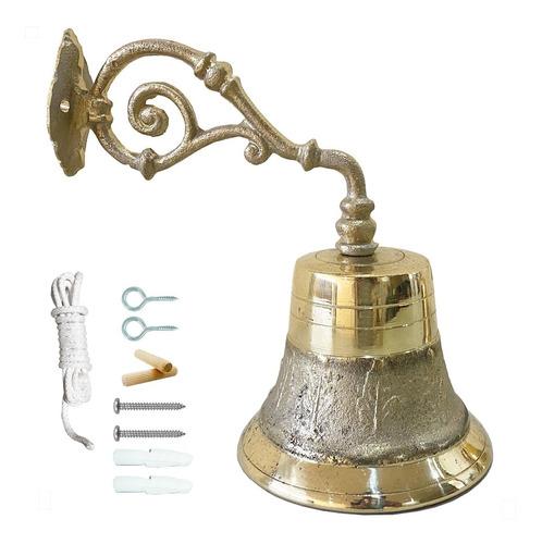 campana para timbre de bronce no. 12