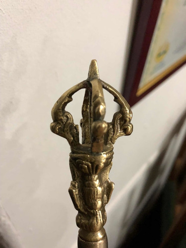 campana tibetana antigua