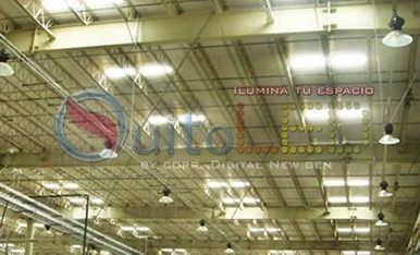 campana tipo reflector led 150 watts industrial  campana led