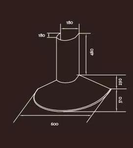 campana tst limay de cocina acero circular extractor 60cm