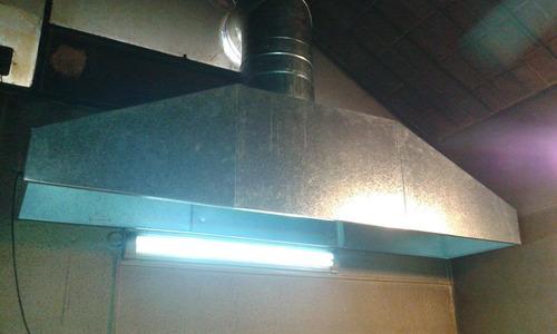 campanas de cocina industriales ,ductos, extractores